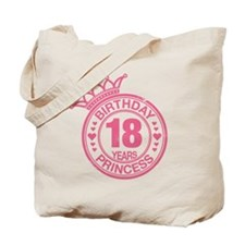 Birthday Princess 18 years Tote Bag