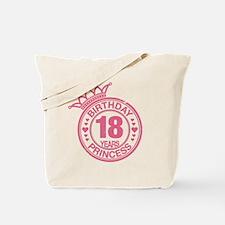 Birthday Princess 18 years Tote Bag