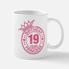 Birthday Princess 19 years Mug