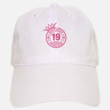 Birthday Princess 19 years Baseball Baseball Cap