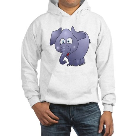 Cute Elephant Hooded Sweatshirt