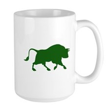 Green Bull Mug