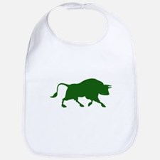 Green Bull Bib