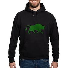 Green Bull Hoodie