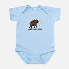 Save the mastodons Infant Bodysuit