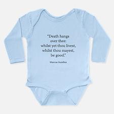 Meditations Book 4 Part 14 Long Sleeve Infant Body