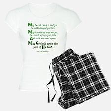 Irish May the Road Pajamas