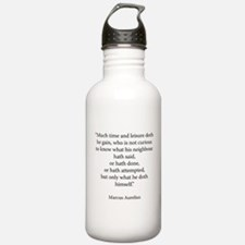 Meditations Book 4 Part 15 Water Bottle