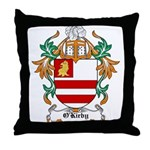 O'Kirby Coat of Arms Throw Pillow