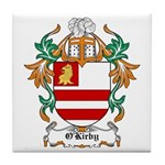 O'Kirby Coat of Arms Tile Coaster