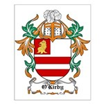 O'Kirby Coat of Arms Small Poster