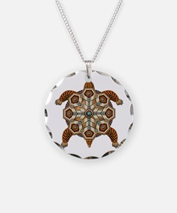 Native American Turtle 02 Necklace