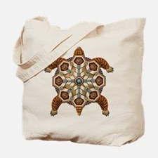 Native American Turtle 02 Tote Bag