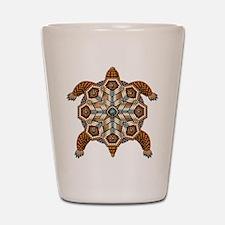 Native American Turtle 02 Shot Glass