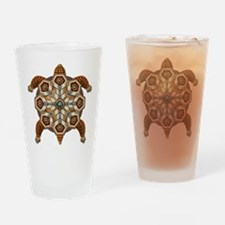 Native American Turtle 02 Drinking Glass