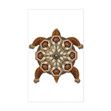 Native American Turtle 02 Decal