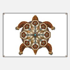 Native American Turtle 02 Banner