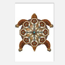 Native American Turtle 02 Postcards (Package of 8)