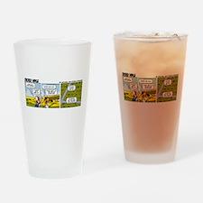 0662 - Yellow Piper Cub Drinking Glass