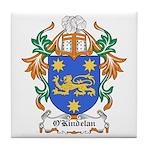 O'Kindelan Coat of Arms Tile Coaster