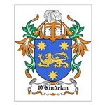 O'Kindelan Coat of Arms Small Poster