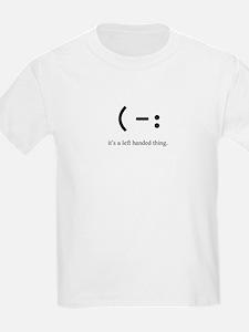 left handed Kids T-Shirt