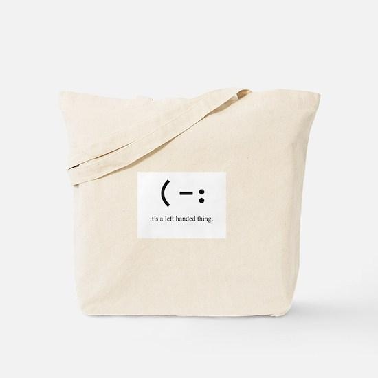 left handed Tote Bag