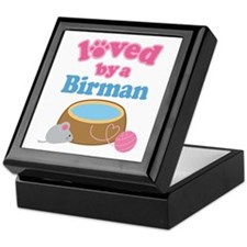 Loved By A Birman Keepsake Box