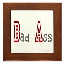 BA Bad Ass Framed Tile