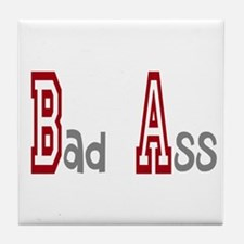 BA Bad Ass Tile Coaster