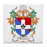 O'Kinahan Coat of Arms Tile Coaster