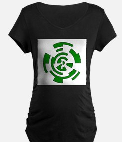 Freehand Concentric Circle Vectors T-Shirt