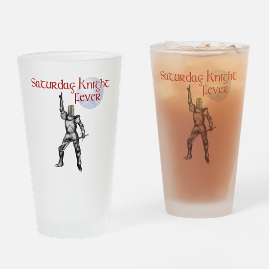 Knight fever Drinking Glass