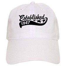Established 1947 Baseball Cap