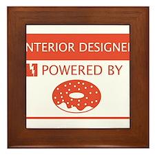 Interior Designer Powered by Doughnuts Framed Tile