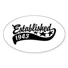 Established 1943 Decal