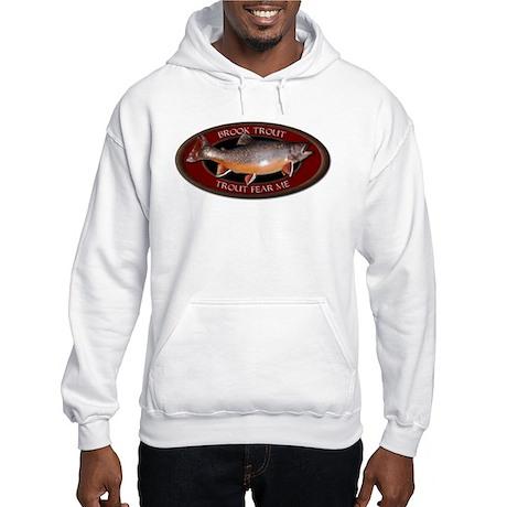Brook Trout Fear Me Hooded Sweatshirt