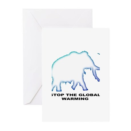 Stop the global warming Greeting Cards (Pk of 20)