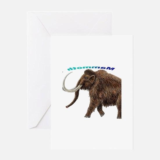 Mammoth Greeting Card