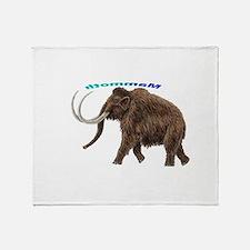 Mammoth Throw Blanket