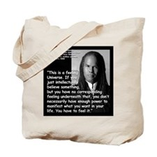 Beckwith Feeling Quote 2 Tote Bag