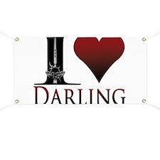 I Heart Darling Banner