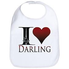 I Heart Darling Bib