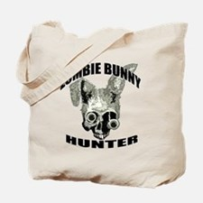 Zombie bunny hunter Tote Bag