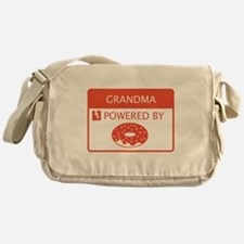 Grandma Powered by Doughnuts Messenger Bag