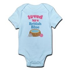 Loved By A British Blue Infant Bodysuit