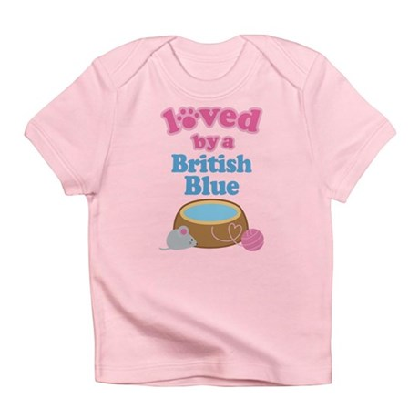 Loved By A British Blue Infant T-Shirt