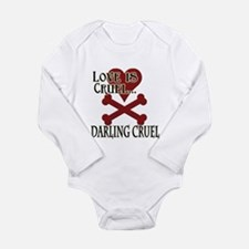 Love is Cruel Long Sleeve Infant Bodysuit