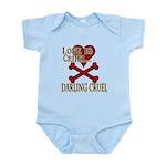 Love is Cruel Infant Bodysuit