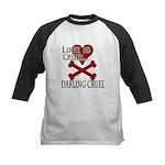 Love is Cruel Kids Baseball Jersey
